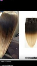CLIP HAIR EXTENSION SHATUSH CAPELLI VERI NATURALI 50/55cm SOCAP ORIGINAL