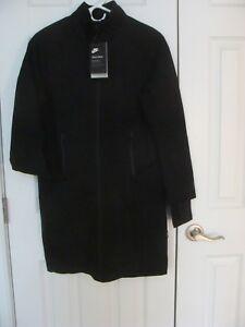 WOMENS NIKE SPORTSWEAR TECH FLEECE BLACK 884429 010 SIZE XS, L, XL