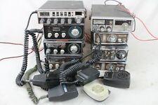 8 Vintage Cb Radio Lot w/ Mics 40 23 Channel Royce Lafayette 625 Hb-525 525 Ge