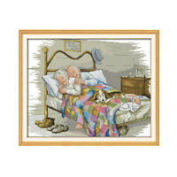 The Old Married Couple Counted Cross Stitch11/14ct For Embroidery DIY FO