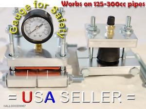 2 Stroke Exhaust Pipe Dent Repair Kit Dent Removal DIY Tool Using Air 125-300cc