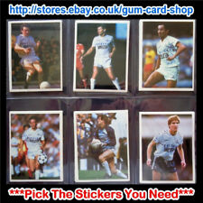 ☆ Daily Mirror 1986-87 Stick With Soccer (TOTTENHAM HOTSPUR) *Select Stickers*