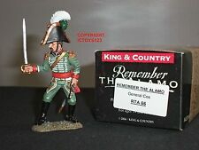 King and Country rta66 ALAMO MEXICAN generale COS IN METALLO GIOCATTOLO Soldato Figura