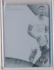 Iman Shumpert 2014-15 Immaculate Jumbo Jerseys Black Printer Plate 1/1 Knicks
