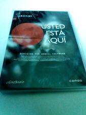 "DVD ""USTED ESTA AQUI"" COMO NUEVO DANIEL COCKBURN JAVIER CHILLON CORTOMETRAJES"