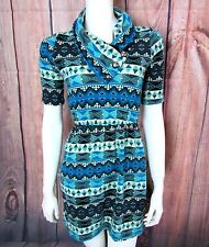 GIDDY UP GLAMOUR Country Western Sweater Dress Size SMALL Dance Party Boots
