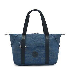 Kipling Large Travel Bag ART M Shoulder Bag BLUE ECLIPSE PRINT Fall 2020 RRP£102