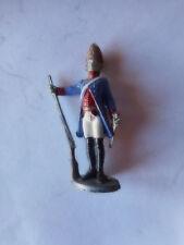 soldat ronde bosse en plomb ou alu peint garde prussien