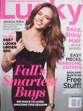 JESSICA ALBA September 2011 LUCKY Magazine