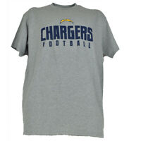 NFL Los Angeles Chargers Crew Neck Tshirt Tee Short Sleeve Art Of Victory Gray