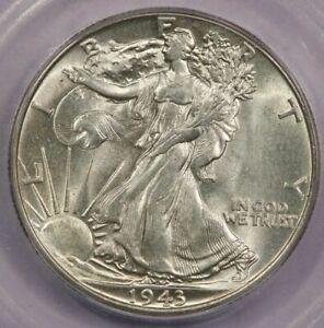 1943-P 1943 Walking Liberty Half Dollar ICG MS65