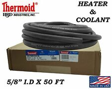 """1/2"""" X 50' COOLANT HOSE HEATER HOSE REPLACEMENT THERMOID MADE IN USA GUARANTEED"""