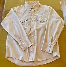 Vintage Mens Woolrich Made in USA Western Shirt Rockabilly Size Xtra Large EUC