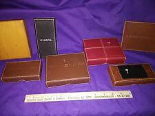 Tommy Hilfiger Men's Leather Wallet Billfold BOX Boxes LOT 6x
