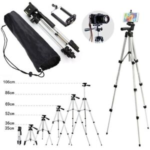 Tripod Stand Digital Camera Camcorder Cell Phone Mount Holder for iPhone Samsung