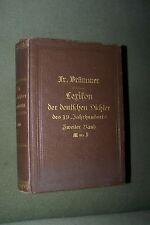 1884 canons lexique de la poète allemand du 19 siècle deuxième volume M à Z Livre