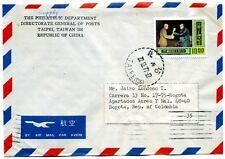 TAIWAN-REP OF CHINA, DIRECTOR GENERAL,TO MR. JAIRO LONDONO>COLOMBIA 1979