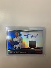 2012 Bowman Sterling Francisco Martinez Relic/auto Seattle Mariners