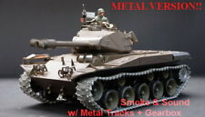2.4Ghz Radio Control 1/16 Us M41A3 Walker Bulldog Tank Super Metal w/Smoke Sound