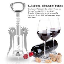 Stainless Steel Wing Red Wine Corkscrew Beer Bottle Opener Bar Restaurant AZ