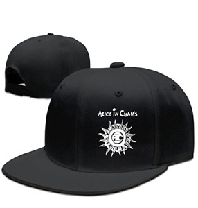 Alice In Chains Adjustable.Fitted Baseball Hats Snapback Caps