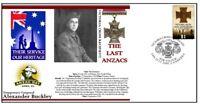 ALEX BUCKLEY VICTORIA CROSS CENTENARY LAST ANZACS COV