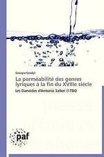La perméabilité des genres lyriques à la fin du XVIIIe siècle: Les Danaïdes d'An