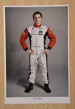 ORIGINAL Autogramm von Timo Glock. pers. gesammelt. 100% Echt. 20x30 Foto