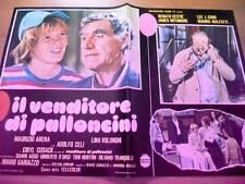 Fotobusta IL VENDITORE DI PALLONCINI 1975 Renato Cestiè, Marina Malfatti (1)