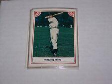 1983 ASA The Joe DiMaggio Story #8 of 12 1950 Spring Training Yankees