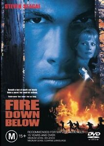 Fire Down Below DVD WV1 Steven Segal fights for the environment. RARE free post