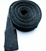 "10M Exhaust Insulating BLACK Heat Wrap 2"" Header Manifold"
