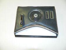 Vintage 1960's Ross Desk Radio w/Pen Holder w/ Paper Slot Works GOOD!!!