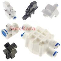 "1/4"" 3/8"" Push Fit Pipe Tube Valve Low Pressure High Pressure Switch RO Aquarium"