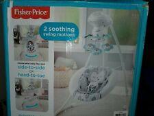 Fisher-Price GJB53 Sweet Snugamonkey  Cradle 'N Swing - White