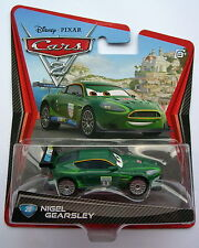 CARS 2 - NIGEL GEARSLEY - Mattel Disney Pixar