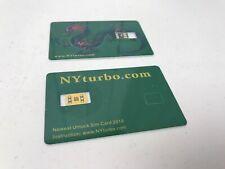Tarjeta De Chip De Desbloqueo de Teléfono Móvil X 2 por nyturbo. com