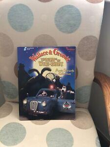 Wallace & Gromit Curse of the Were- Rabbit Sticker Album Complete VGC