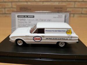 1961 FORD XK FALCON PANEL VAN. ESSO PETROLEUM. Oil Series. Trax TR27D. Fuel.