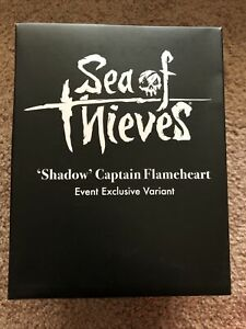 NEW Sea of Thieves  'Shadow' Captain Flameheart Figure - Event Exclusive Variant