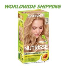 Garnier NutrisseNourishing Color Hair Dye 90 Light Natural Blonde WORLD SHIPPING