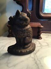 Vintage / Antique Cast Iron Cat Doorstop