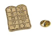 Pin Thou Shalt Not 6030082 10 Ten Commandments Lapel