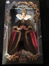 "DISNEY STORE - LIMITED EDITION EVIL QUEEN 17"" DOLL - Art Of Snow White"