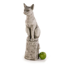 Steinfigur Dekofigur Fiona Scott NEU 59cm 14kg Katze Steinguss Skulptur Deko