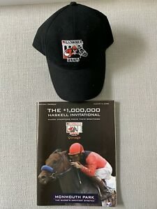 2006 Haskell Invitational Hat & Program - Monmouth Park August 6,2006