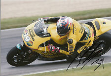 Luis Salom Hand Signed Paginas Amarillas HP 40 Kalex 12x8 Photo 2014 Moto2 4.