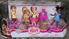 🎀 Disney Junior Fancy Nancy Figure Figurine Play Set New in Box 💜