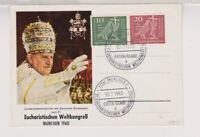 BUND, Mi. 330/31, FDC auf illustr. SOK (Johannes XXIII.)