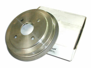 For 1992-1993 Eagle 2000 GTX Brake Drum Rear Centric 74884TW FWD